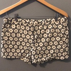 Madewell shorts flower print size 8